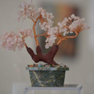 Arbre de vie - Quartz Rose