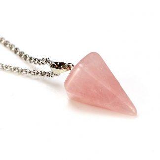 Pendule quartz rose