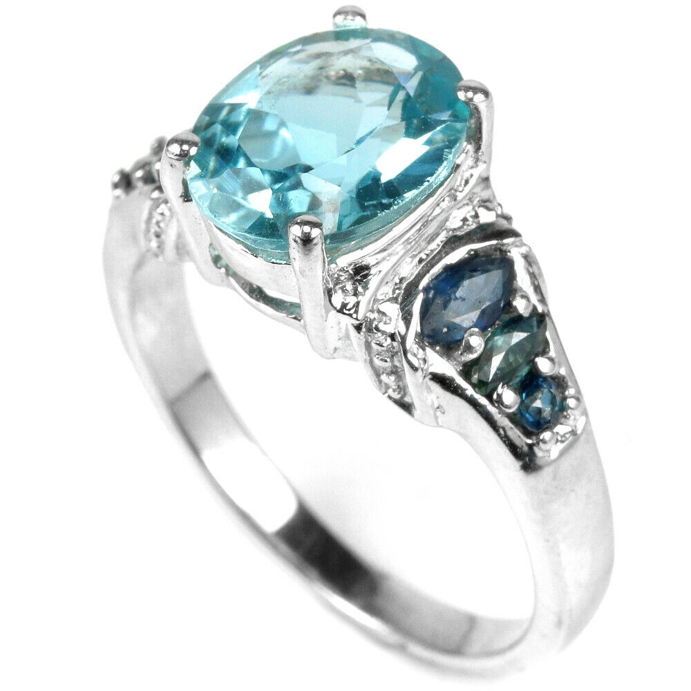 Topaze-bleue-naturelle-saphire-argent-bague-taille57